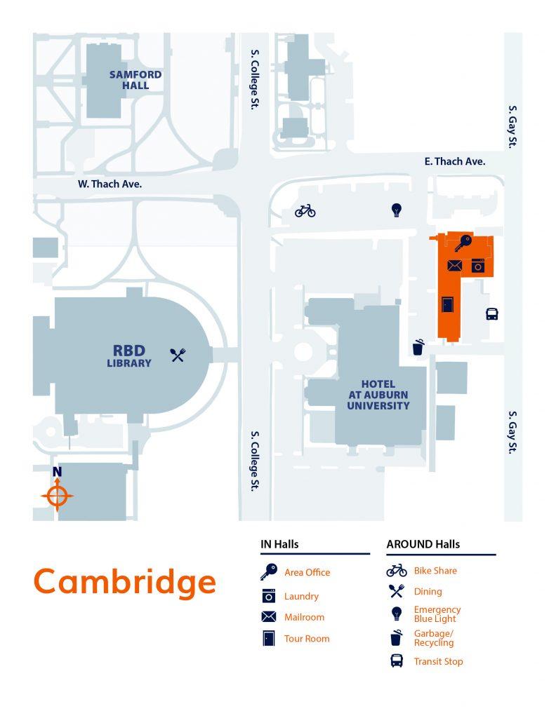 Cambridge neighborhood map