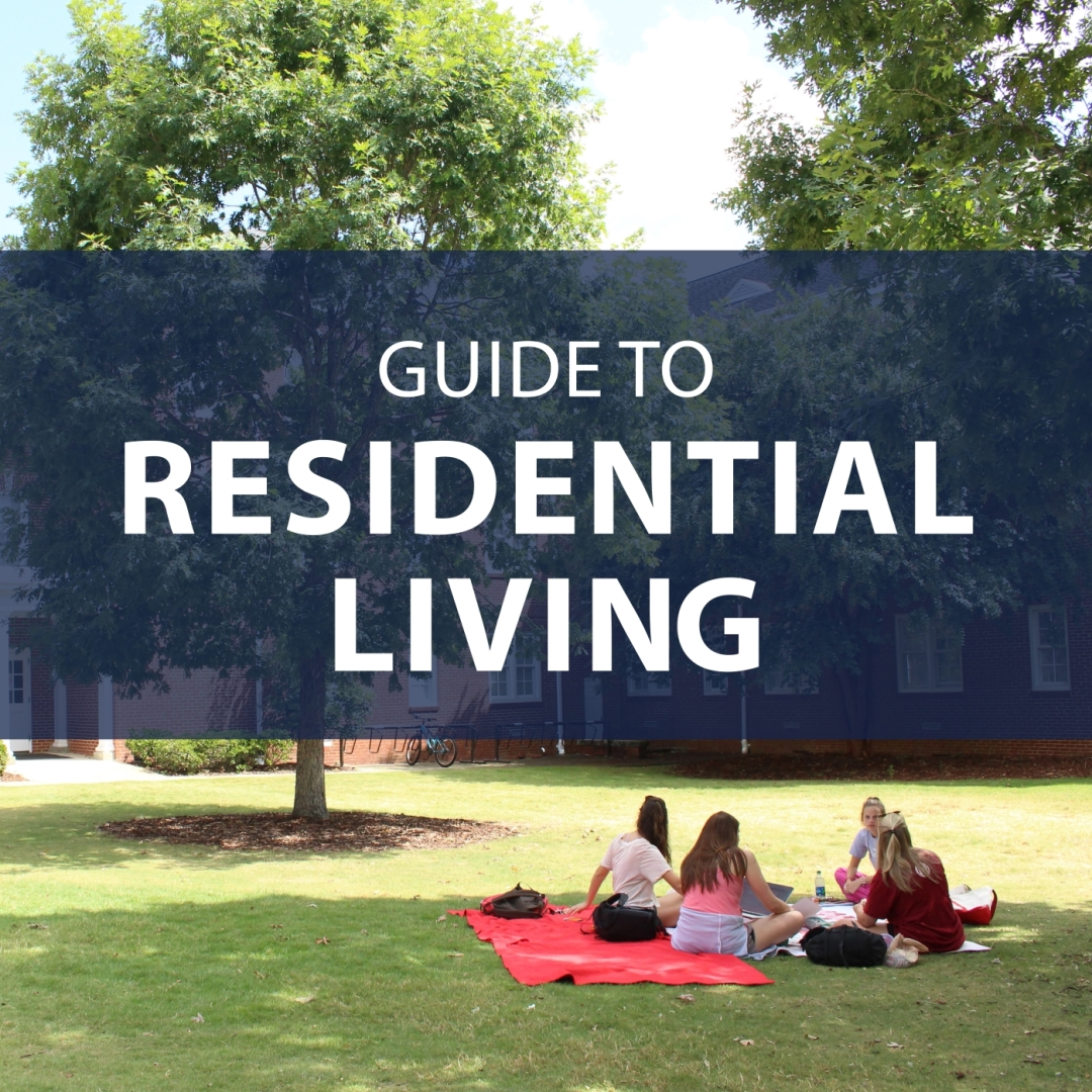 """""""Guide to Residential Living"""" banner"""