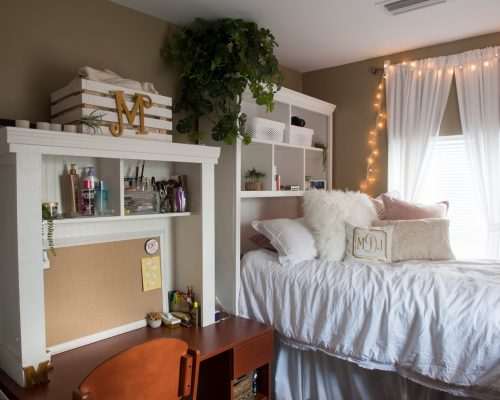 The Village bedroom